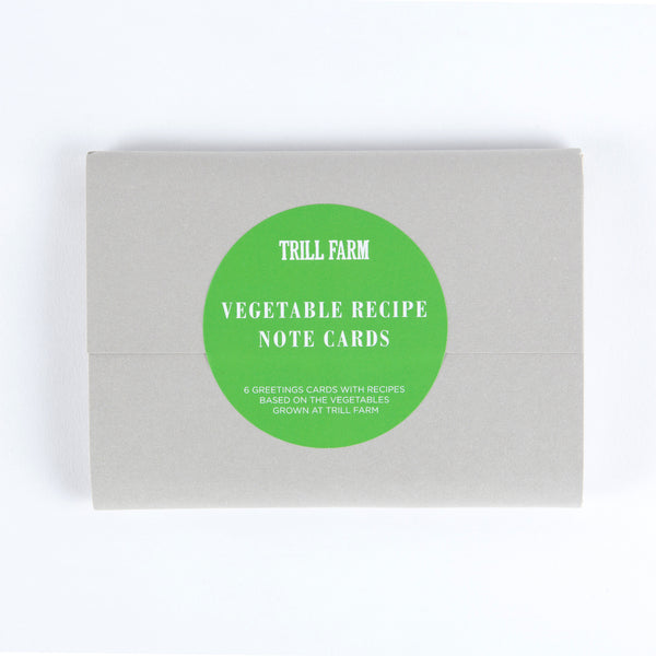 VEGETABLE RECIPE NOTECARDS