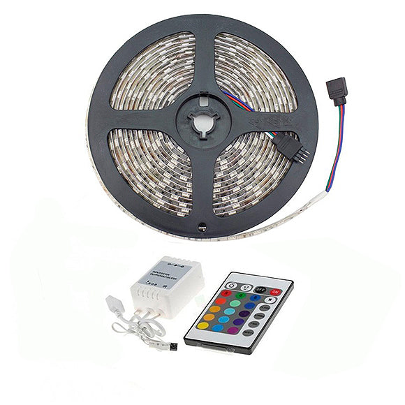 Striscia Led SMD 5M 12V RGB IP55