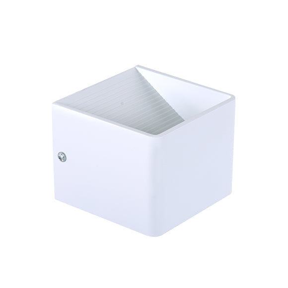 Applique Led a Forma di Cubo 5W E36