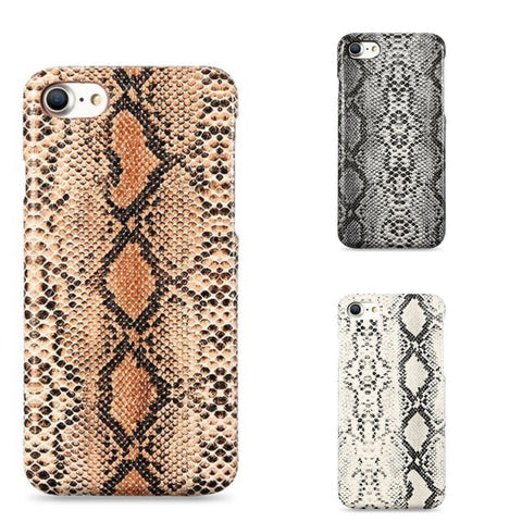 COQUE IPHONE - CUIRE SERPENT