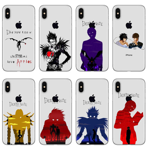 COQUE IPHONE - DEATH NOTE