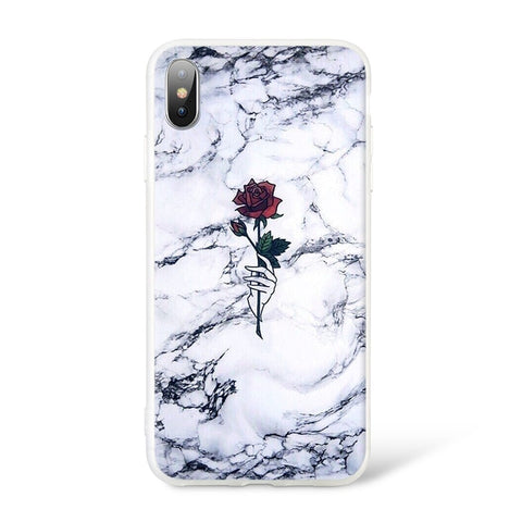 COQUE IPHONE - ROSE
