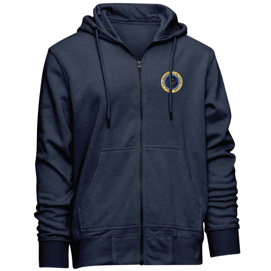 Presidential Seal Hooded Zip-Up