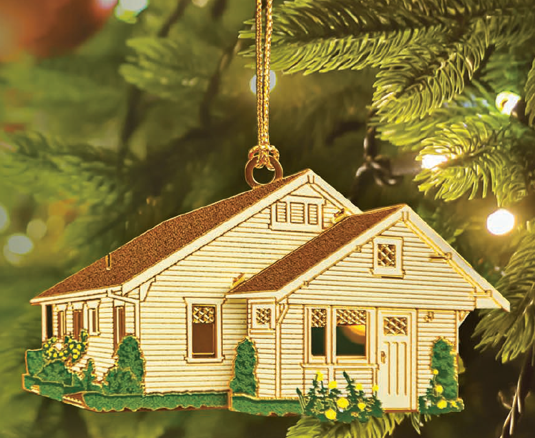 Nixon Birthplace Christmas Ornament