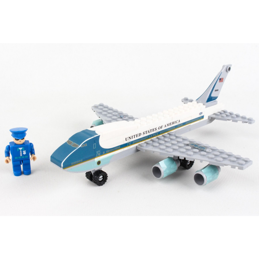 Air Force One Construction Toy