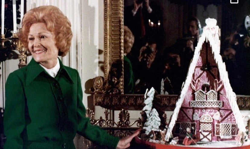 Pat Nixon's Gingerbread House Ornament