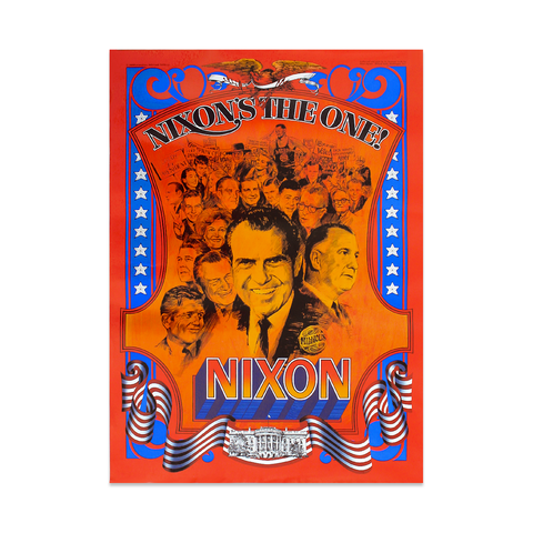 Original Nixon's the One Poster - 1968 50th Anniversary