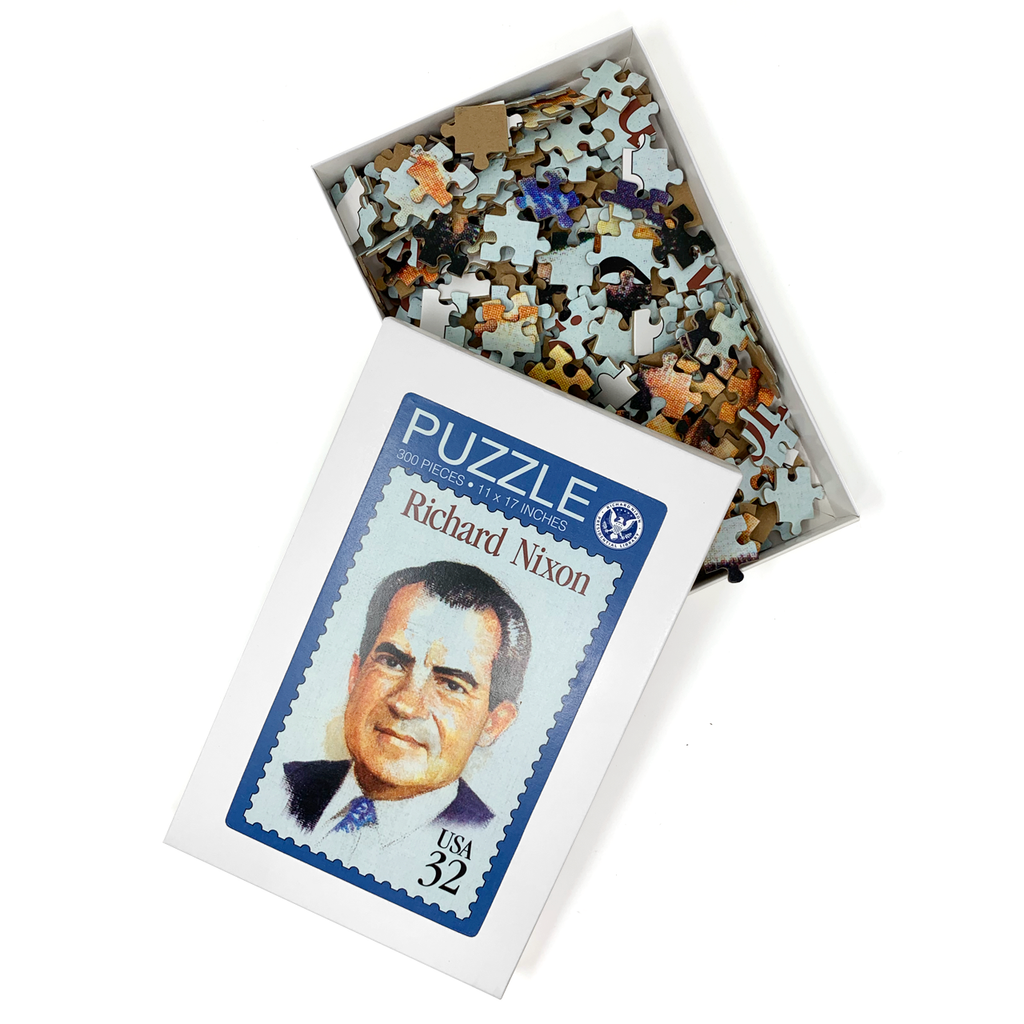Richard Nixon Stamp Puzzle