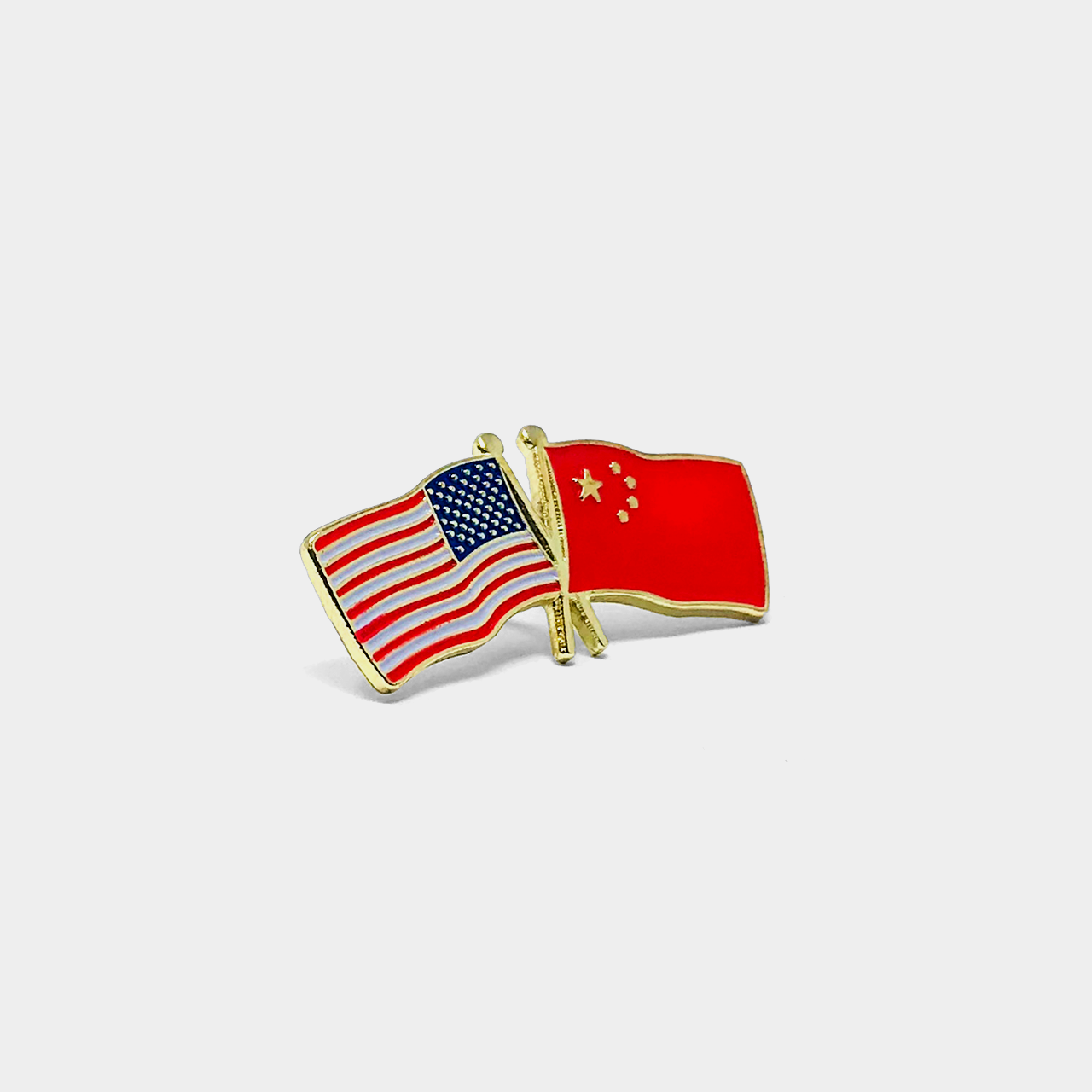 U.S. & China Flag Pin