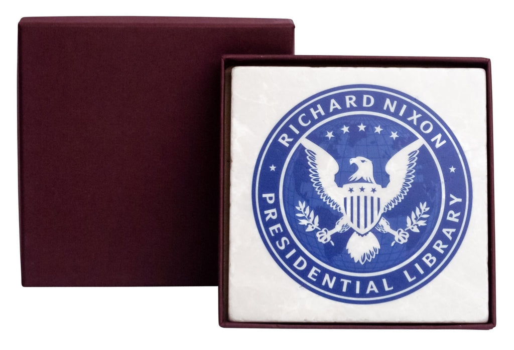 Richard Nixon Presidential Library Coaster