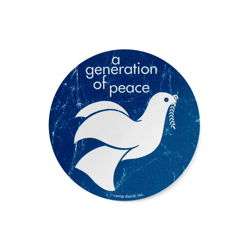 A Generation of Peace Sticker