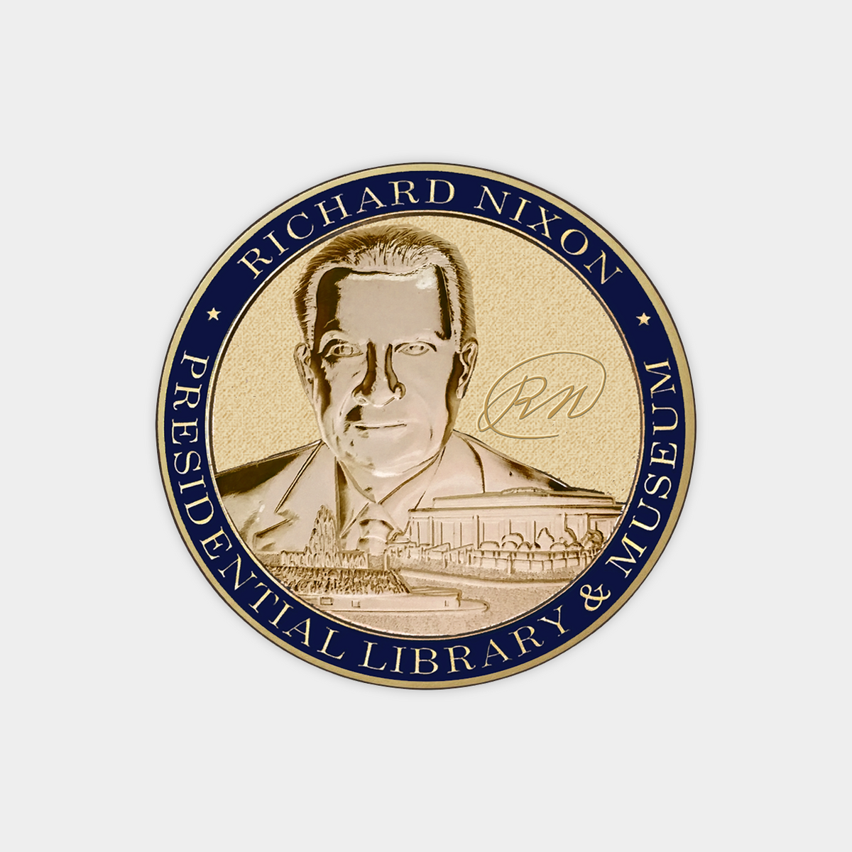 Find Beverly Nixon On Pinterest: Richard Nixon Presidential Library & Museum Coin