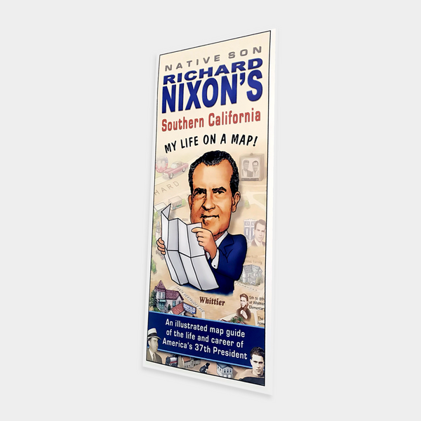Richard Nixon's Life on a Map
