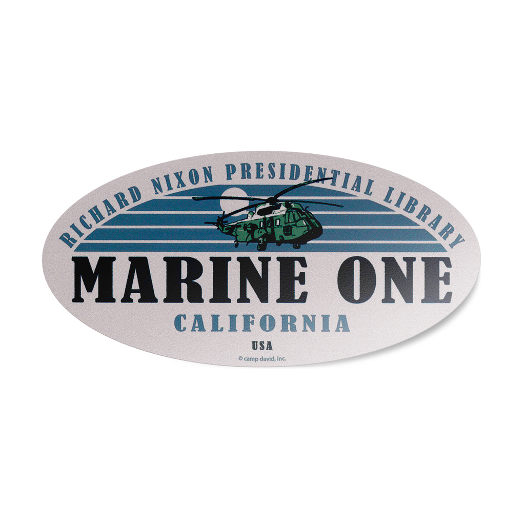 Marine One Sticker
