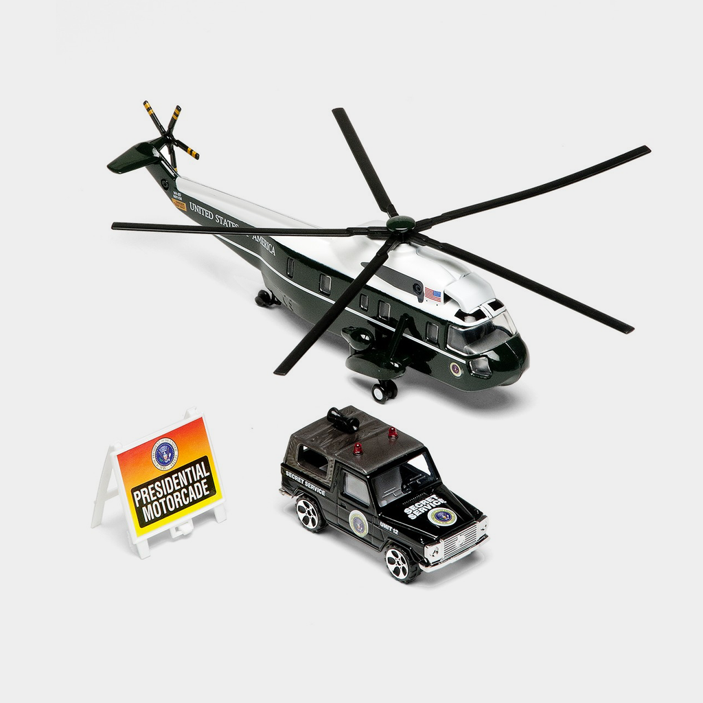 Presidential Helicopter Set