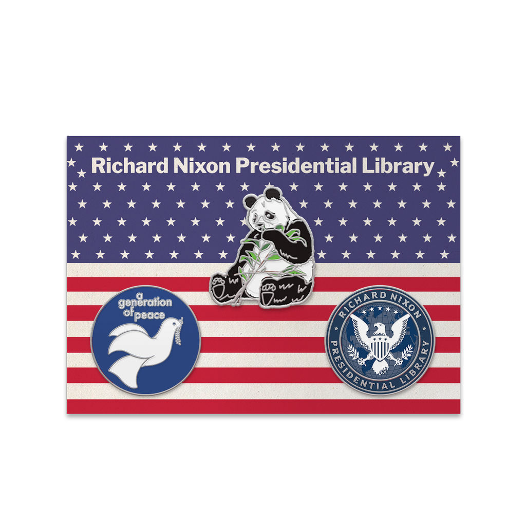 Nixon Library Pin Set
