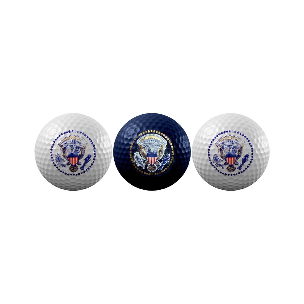 Presidential Seal Golf Balls - Set of 3