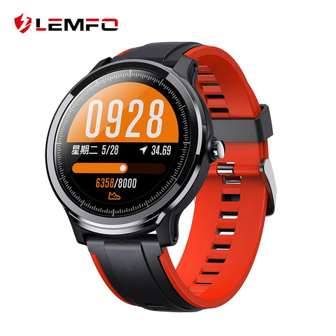 Full Round Touch Screen IP68 Waterproof Smartwatch