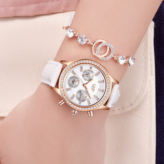 Elegant Ladies Chronograph Watch