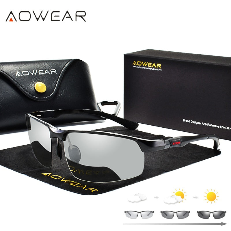 Photochromic Day & Night Driving Sunglasses