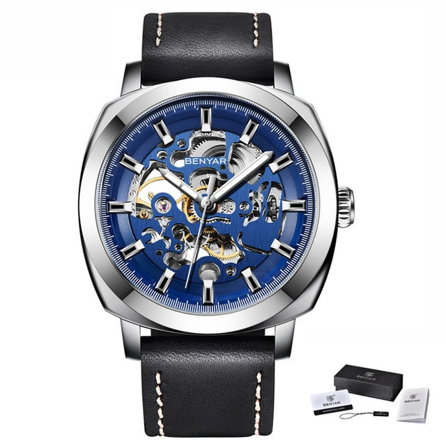 Shock Resistant Mechanical Watch for Men
