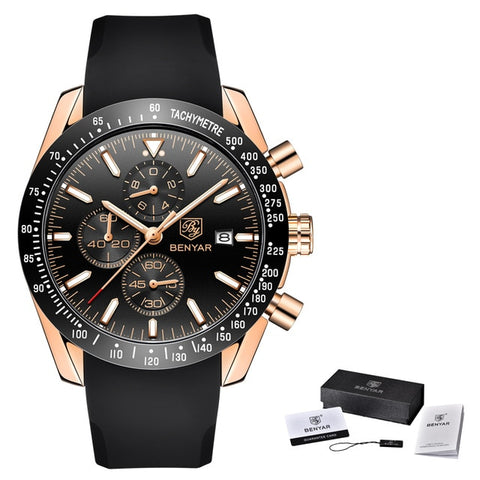 Men's Stainless Steel Sport Watch
