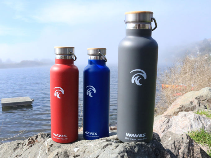 Forever Cold Water Bottle 3-Pack RBG