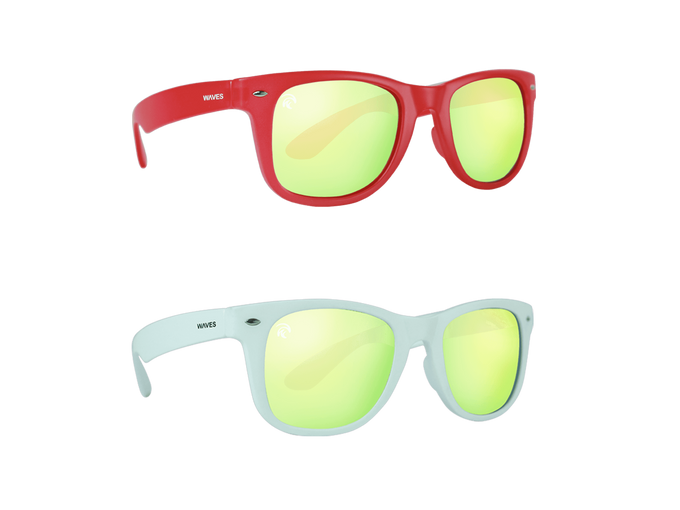 Waves Floating Sunglasses Reflective 2-Pack