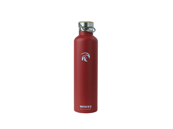 Forever Cold Water Bottle Chili Pepper Waves Gear