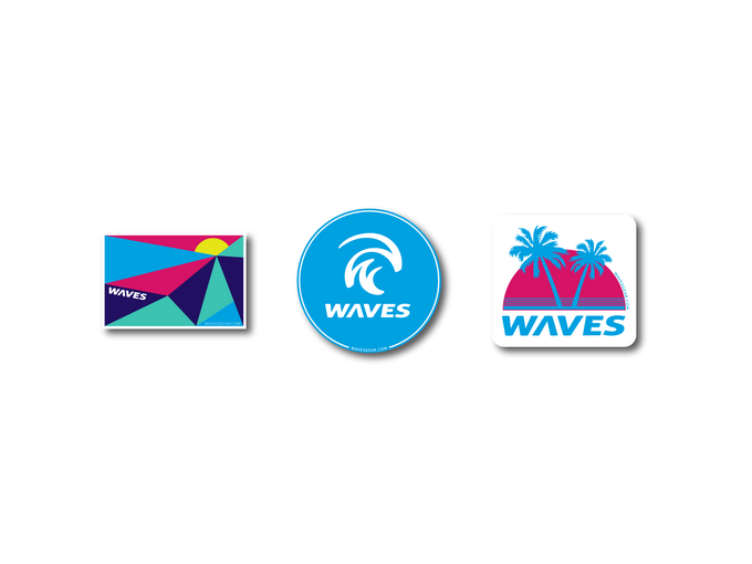 Waves Limited Edition Sticker Pack