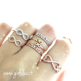infinity ring, crystals - girlsluv.it  - 3