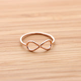 simple infinity ring - girlsluv.it  - 3