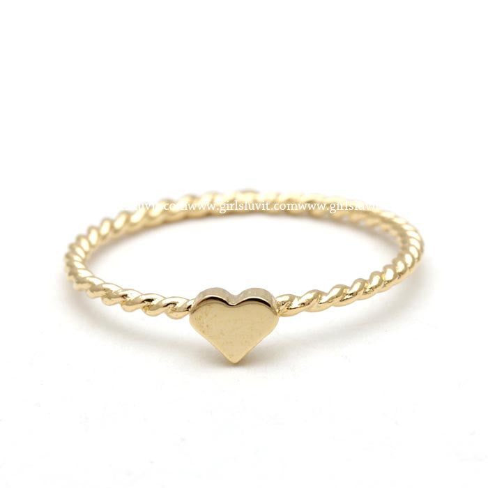 sterling silver, heart ring twisted – girlsluv.it