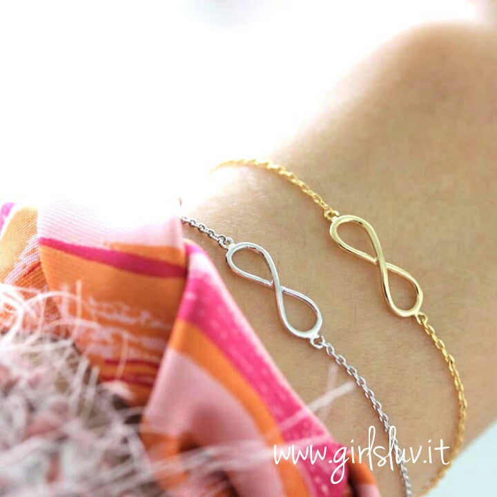 infinity bracelet - girlsluv.it  - 1