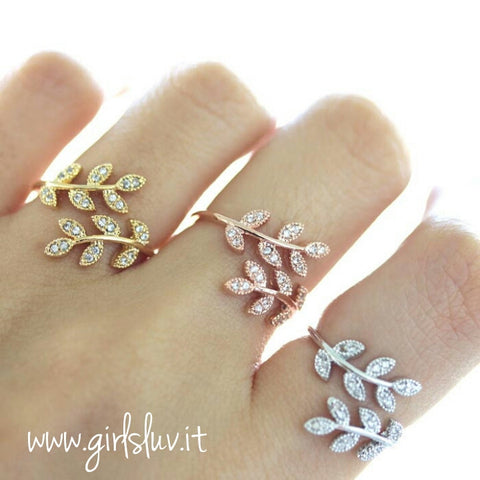 laurel ring, crystals - girlsluv.it  - 1