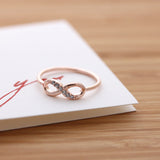 infinity ring, half crystals - girlsluv.it  - 5