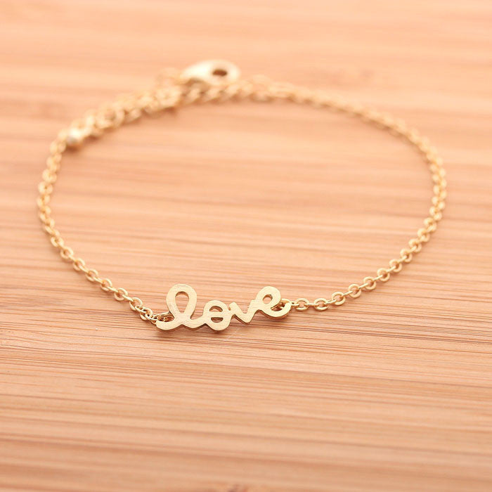 LOVE bracelet, 3 colors - girlsluv.it  - 1