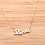 LOVE necklace, 3colors - girlsluv.it  - 3
