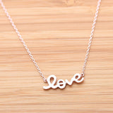 LOVE necklace, 3colors - girlsluv.it  - 2