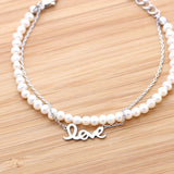love bracelet with pearl - girlsluv.it  - 2