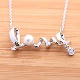 love necklace, pearl - girlsluv.it  - 4