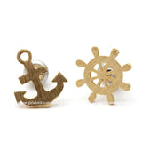 anchor and nautical earrings - girlsluv.it  - 2
