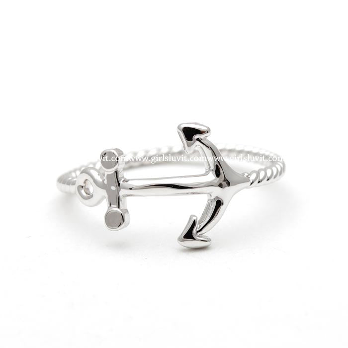 anchor ring, twisted - girlsluv.it  - 1
