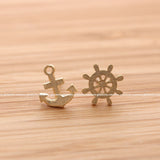 anchor and nautical earrings - girlsluv.it  - 4