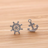 anchor and nautical earrings - girlsluv.it  - 3