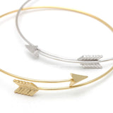arrow bracelet, adjustable - girlsluv.it  - 1