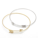 arrow bracelet, adjustable - girlsluv.it  - 2