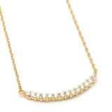 bar necklace, crystals - girlsluv.it  - 2