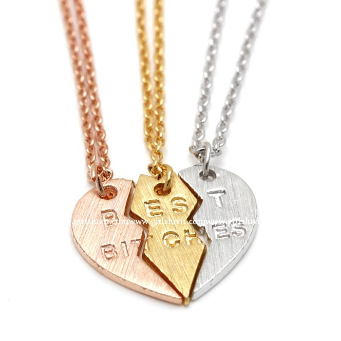 best bitches necklace - girlsluv.it  - 1