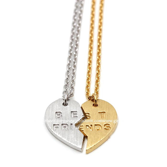 best friends necklace - girlsluv.it